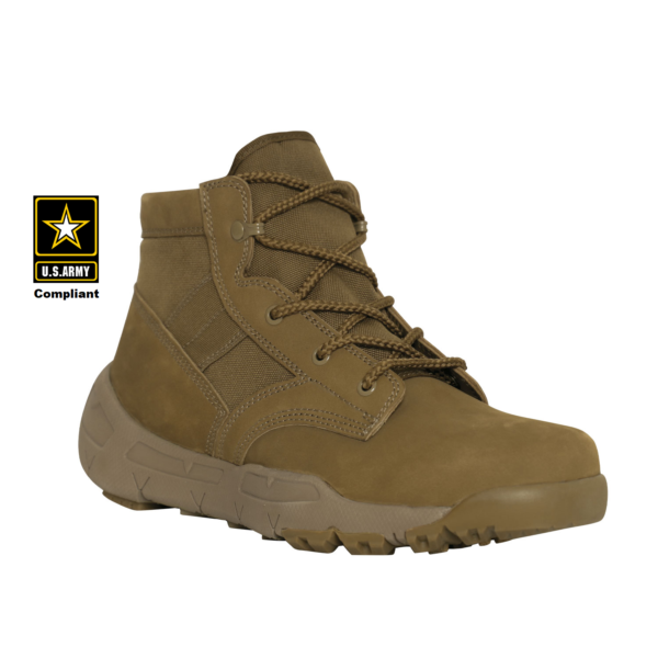 "V-Max Lightweight Tactical Boot 6"" AR 670-1 Coyote Brown"