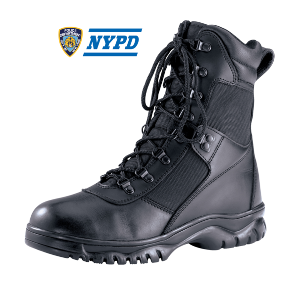 NYC Waterproof Public Safety Boot 8""