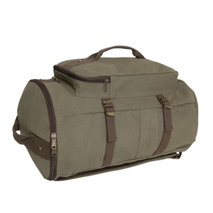 "Convertible 19"" Canvas Duffelbag Backpack"