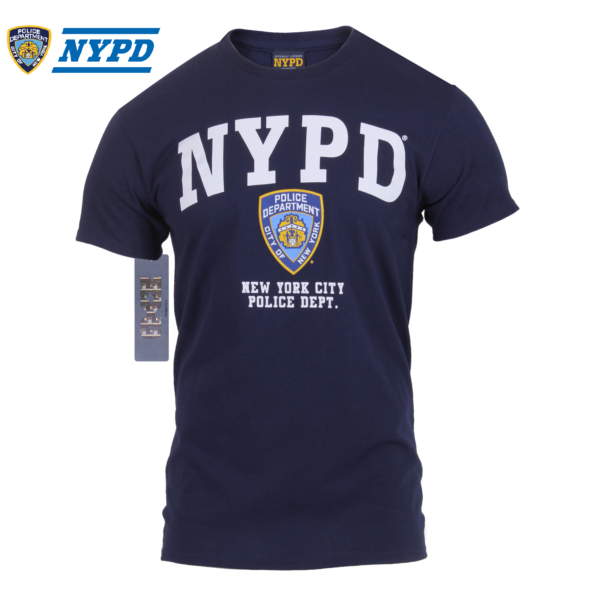 NYPD T-Shirt Official Licensed